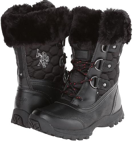 U.S. POLO ASSN. Artic Boots $15 (Reg $49.99)