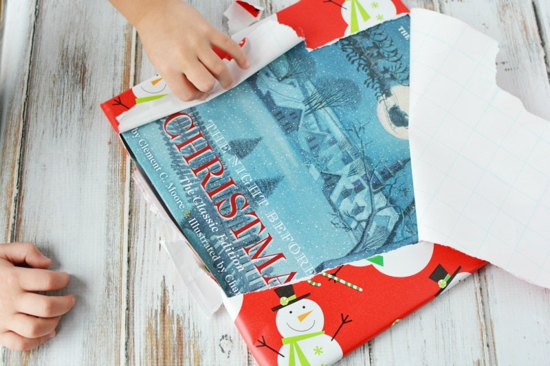Unwrapping Christmas book