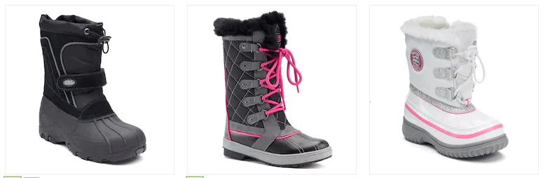 Kids Winter Boots $17.99 Today Only! (Reg. $49.99 to $64.99)
