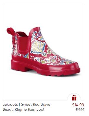 Rain Boots for Women – $14.49!
