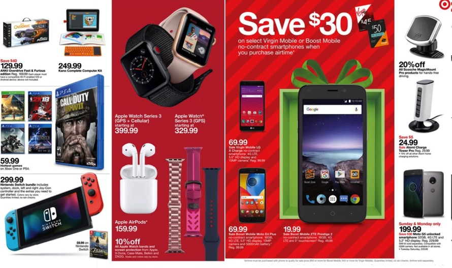 Target Cyber Monday Sale - Extra 15% off Everything, $100