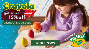 Crayola Products Sale