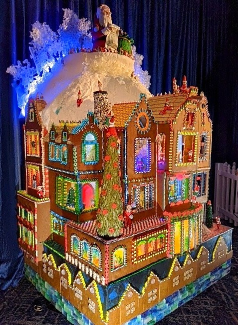 Gingerbread Village Creations in Seattle