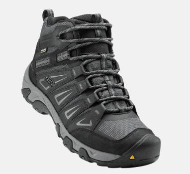KEEN Oakridge Waterproof Mid Hiking Shoes – Men's $65.04 (Reg $125)