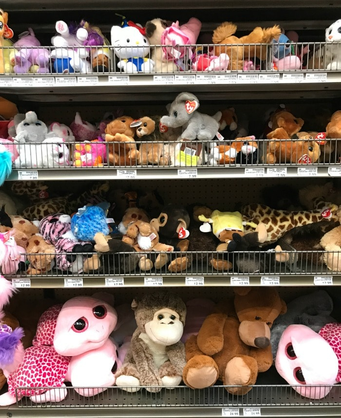 Plush Toys on Sale at Fred Meyer
