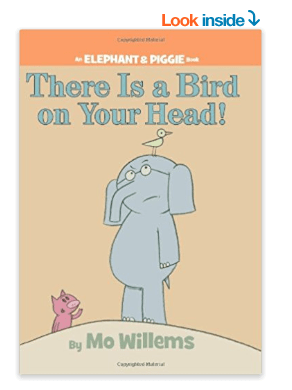 There is a Bird on your head book