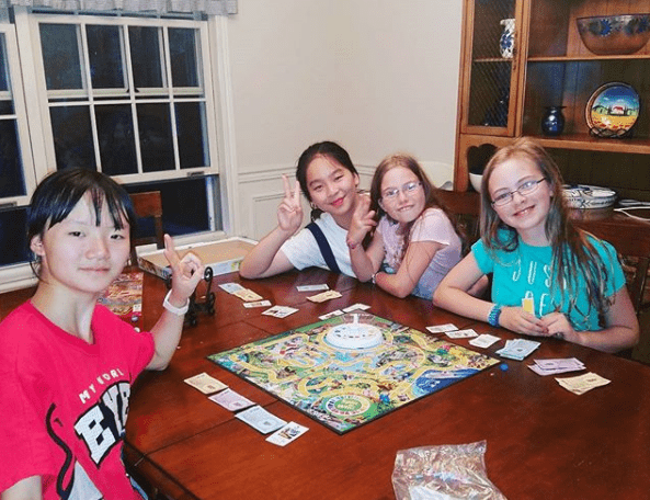 Teaching our Chinese Students American Games