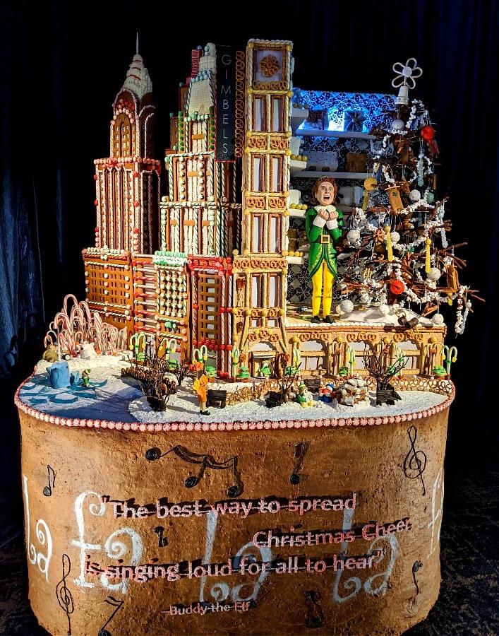 Sheraton Gingerbread Village Elf Creation