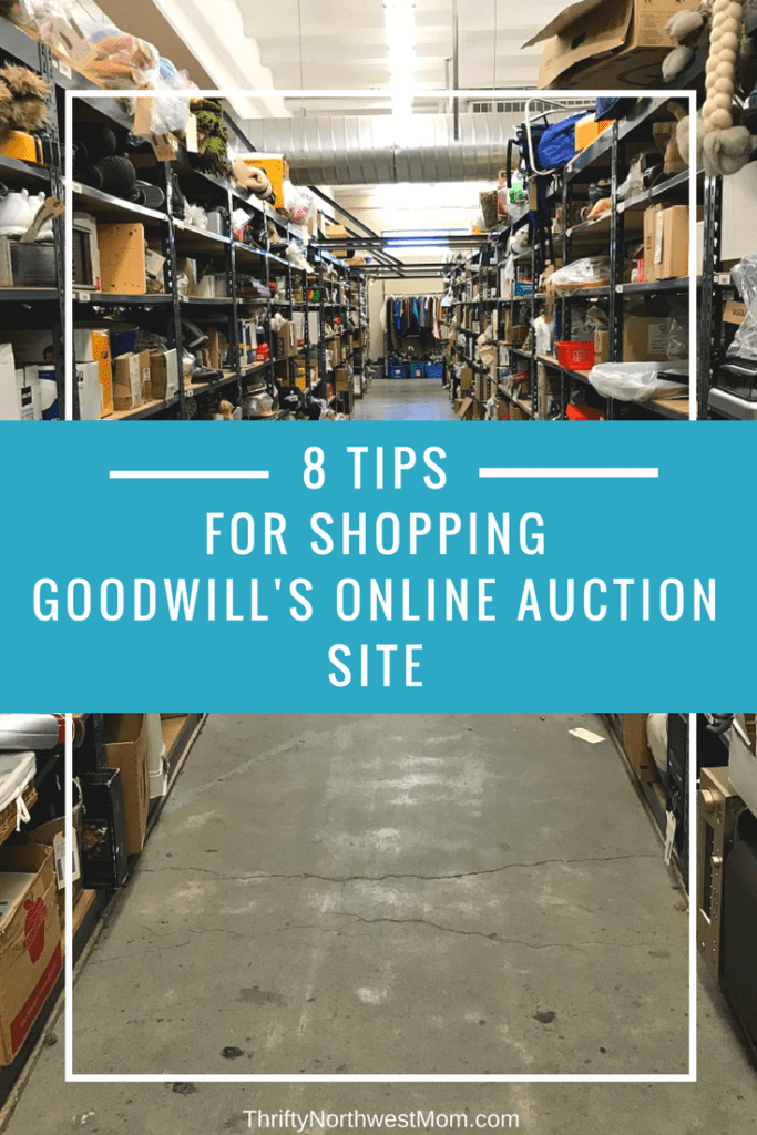 8 tips for shopping goodwill 39 s online auction site for for Good sites for online shopping