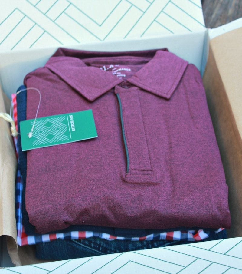 Men's Stitch Fix Box Unboxing