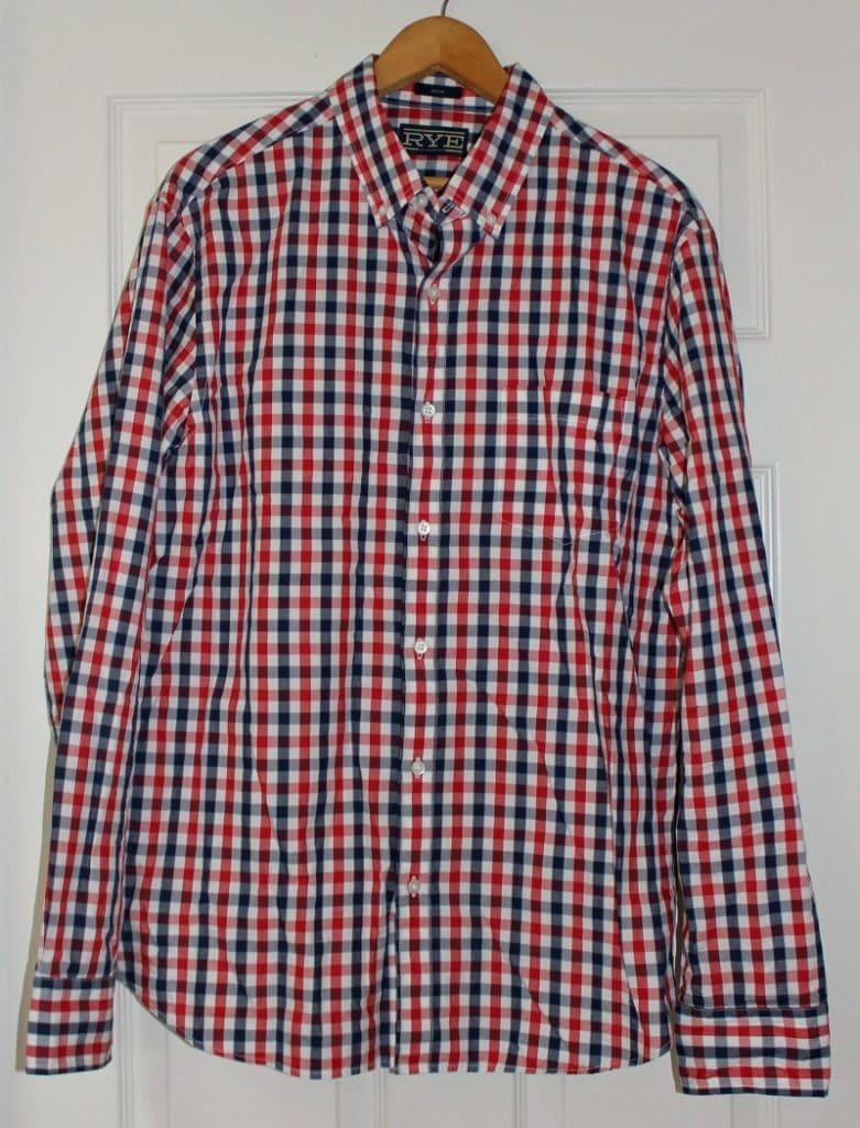 Stitch Fix Mens Rye Long Sleeve Button Down Shirt