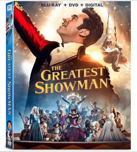The Greatest Showman Blu Ray on Ebay