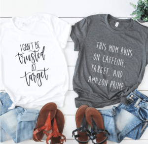 Target Themed T Shirts