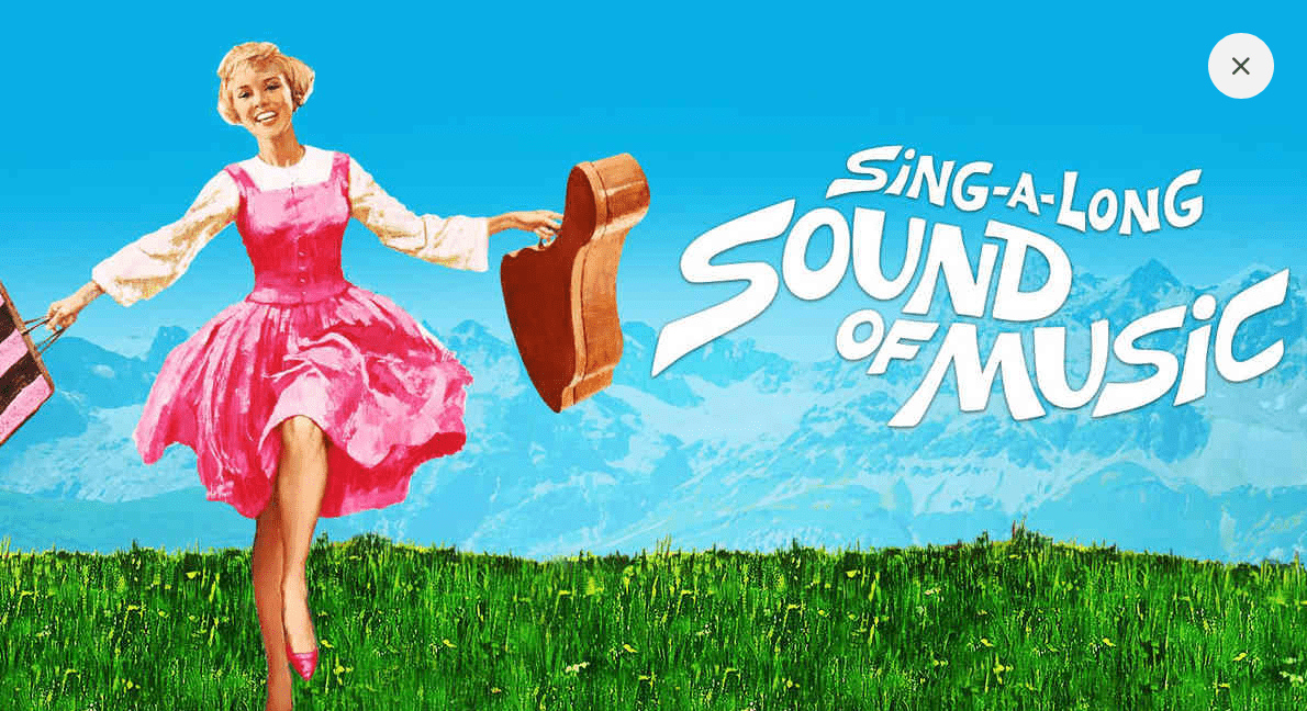 Sound of Music Sing a long