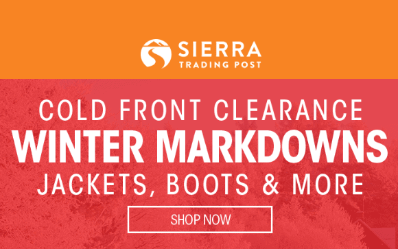 Sierra Trading Post Sale