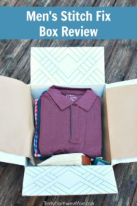 Stitch Fix For Men - A review of the first box