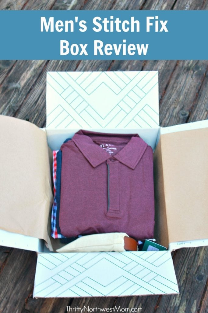 Stitch Fix Men – Unboxing the First Box for New Customer!