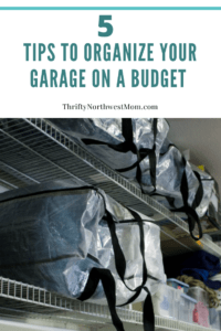 5 Tips to Organize Your Garage on a Budget