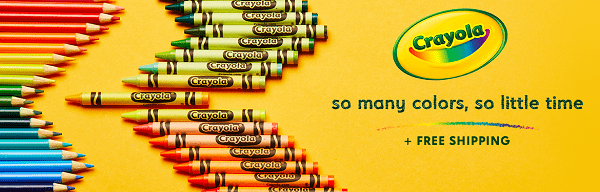 Crayola Sale + Up To 44% Off Today Only! Slime Kit, Art Supplies, Squishy Toys & More!