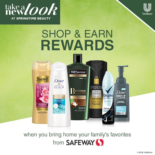 #TakeANewLook18 – Stack Promotions + Coupons to Save BIG on Dove, Axe & Degree Products!