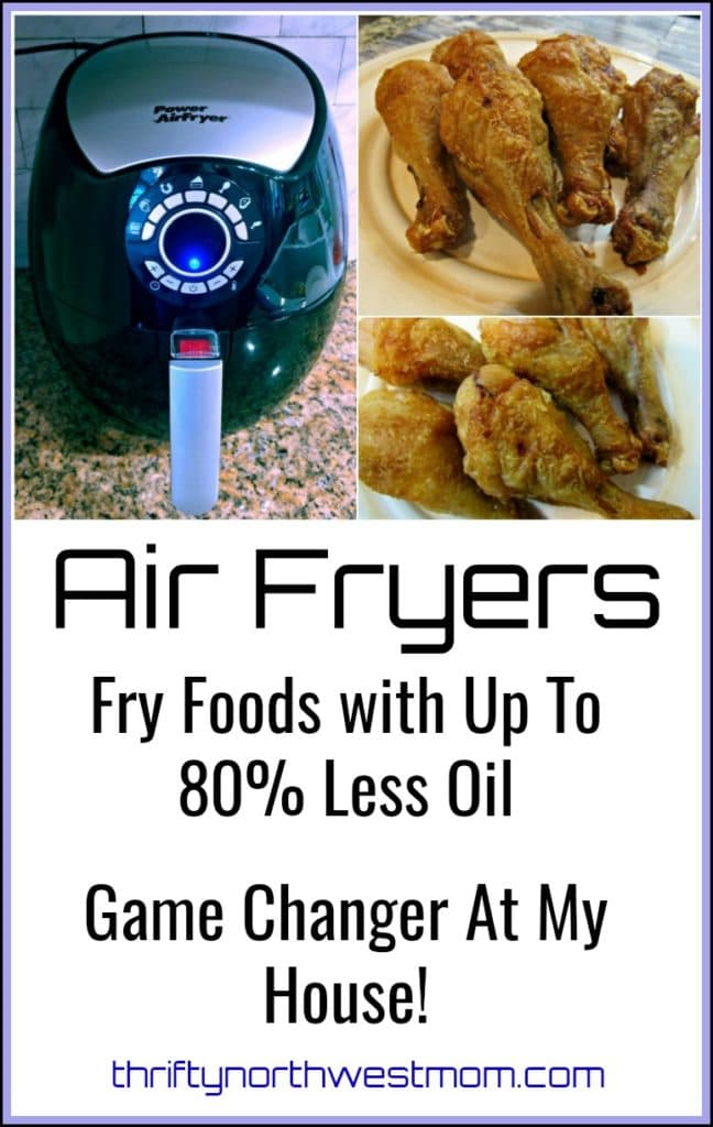 Air Fryer Review – Fried Foods with Up To 80% Less Oil – Game Changer At My House!