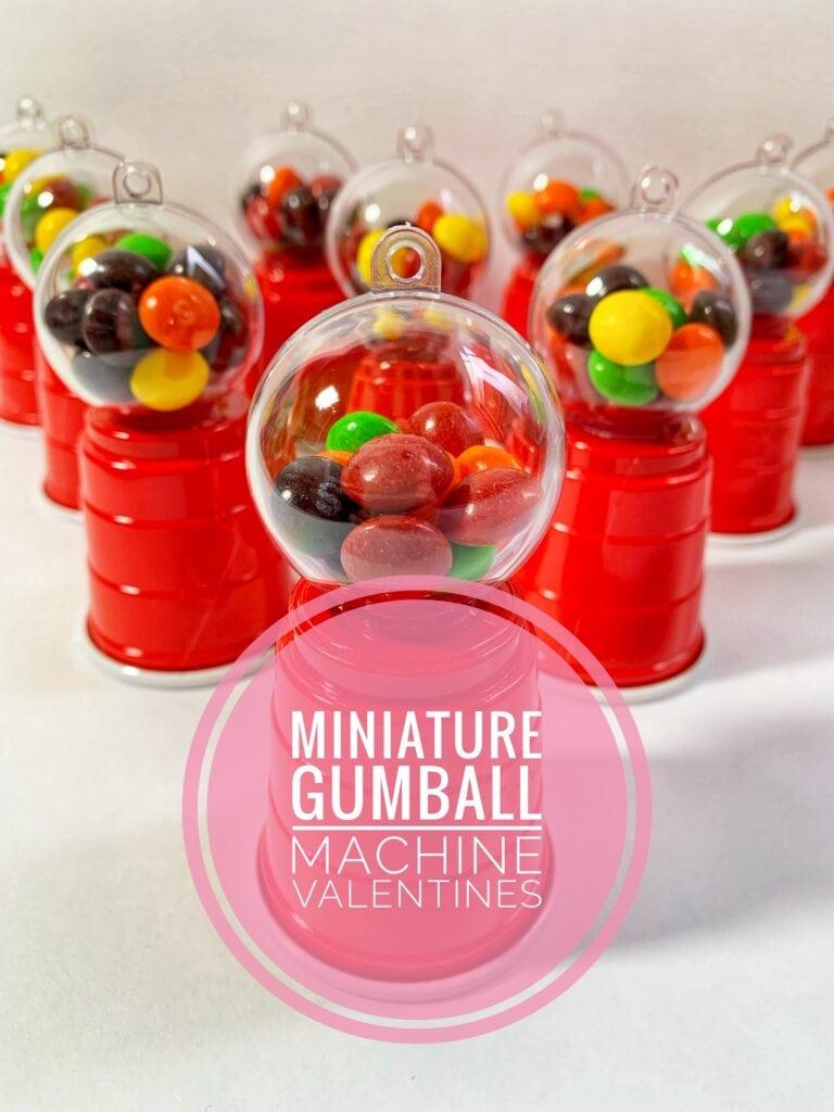 DIY Bubble Gum Machines (Perfect for Valentines Parties)!