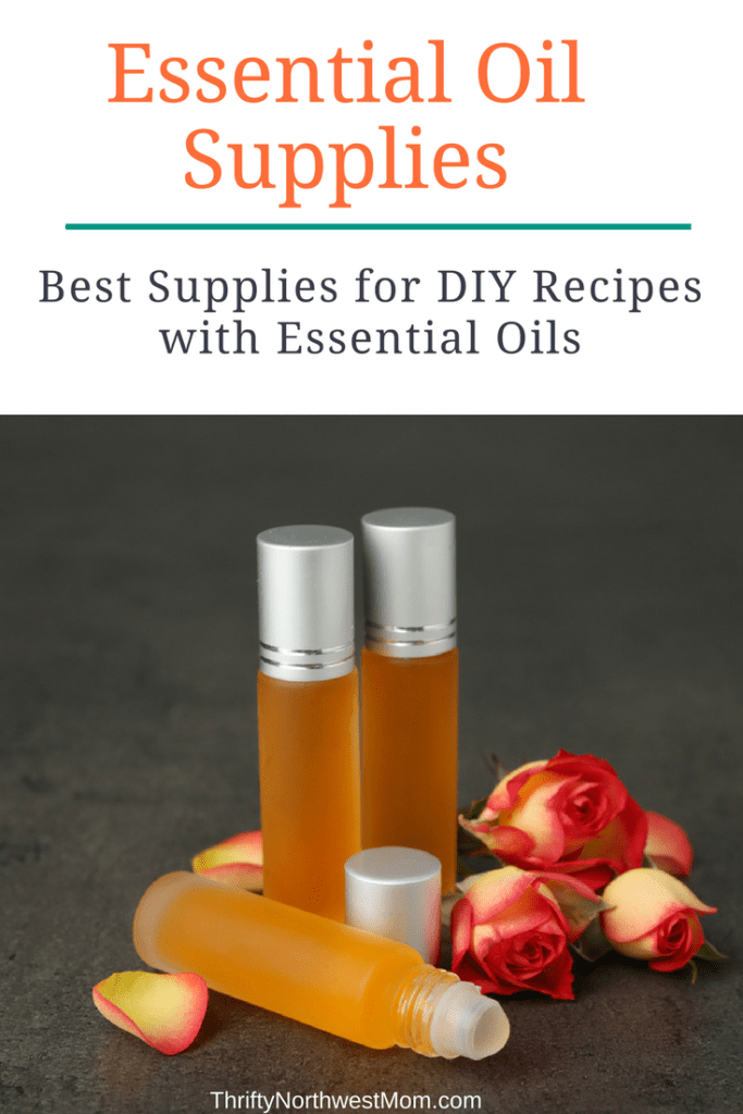 Essential Oil Supplies for making DIY Recipes