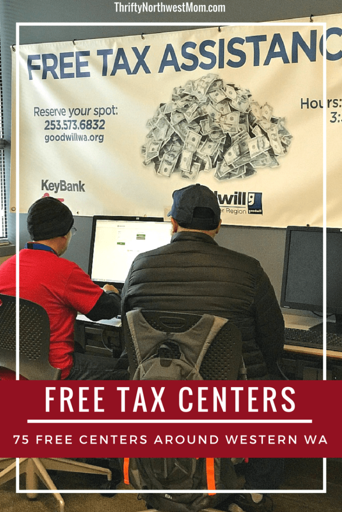 Free Tax Preparation and Filing Centers around the Country – 75 Free Centers in Western Washington