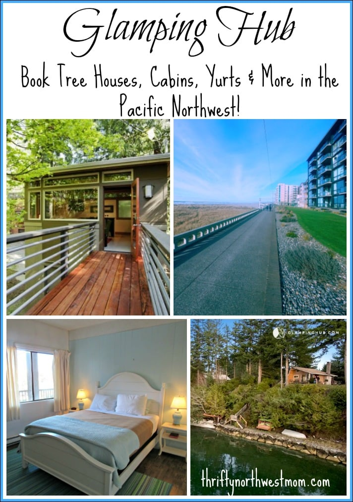 Glamping Hub Vacation Rentals - Book Tree Houses, Cabins, Yurts & more in the Northwest