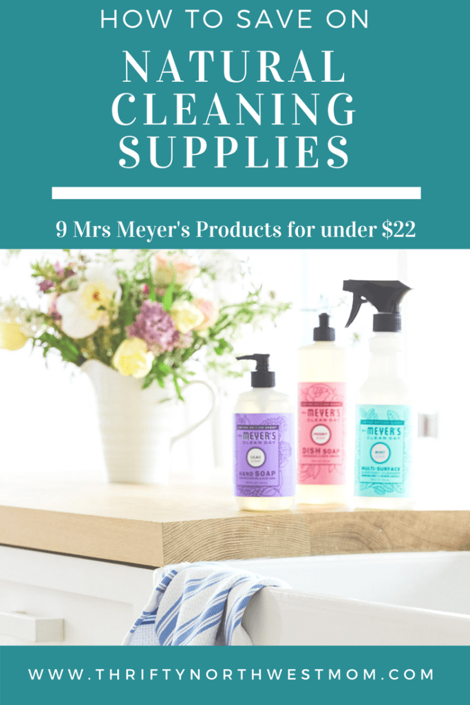 Natural Cleaning Supplies Discounts - How to Save on Mrs Meyers & more natural products