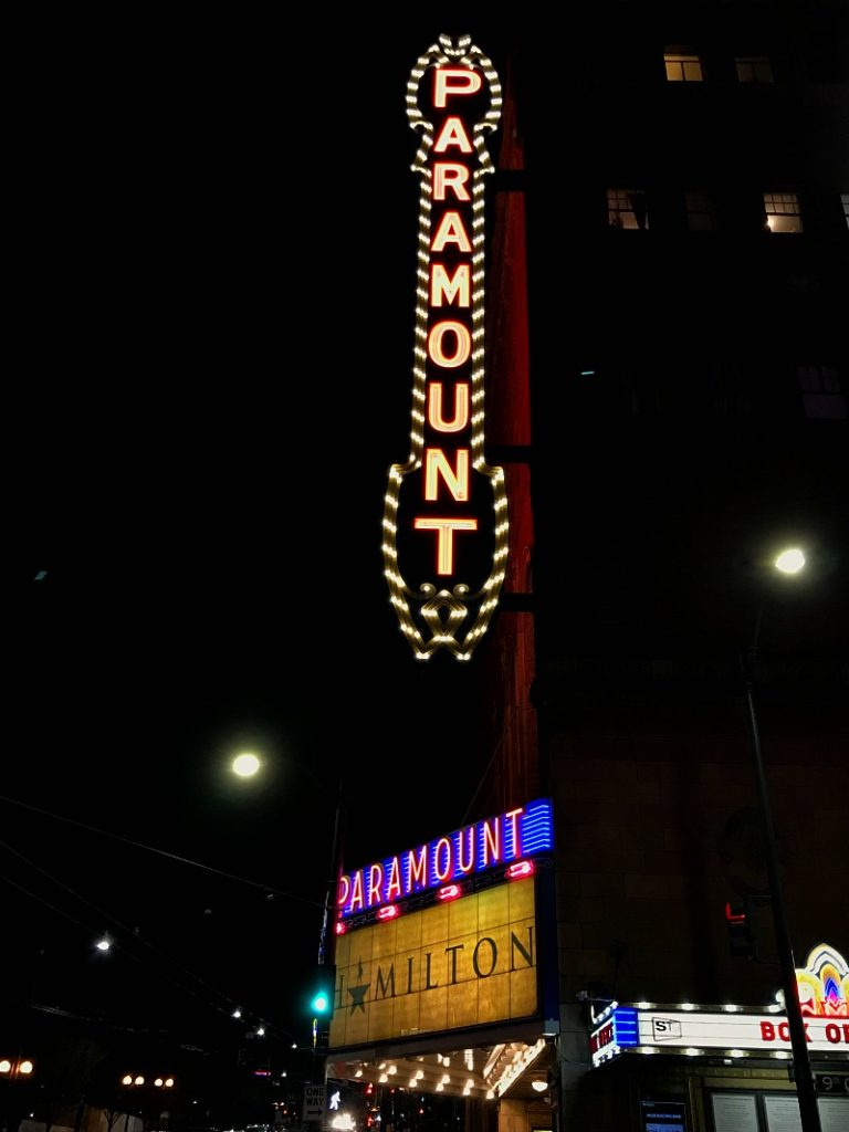Hamilton Musical in Seattle at the Paramount Theater - 5 Tips for Seeing the Show