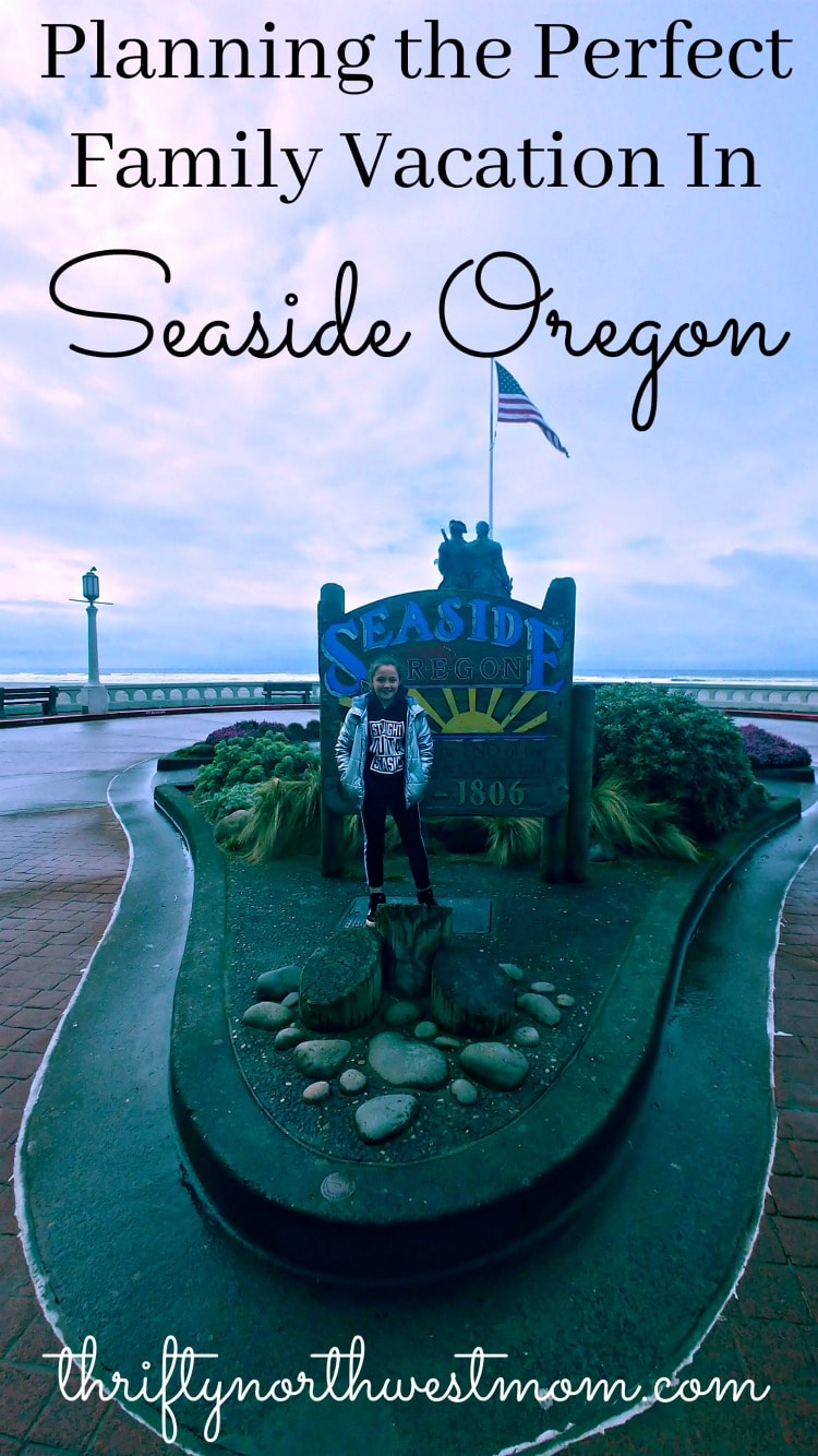 Plan the perfect family vacation in Seaside Oregon with where to stay, things to do with kids and places to eat.