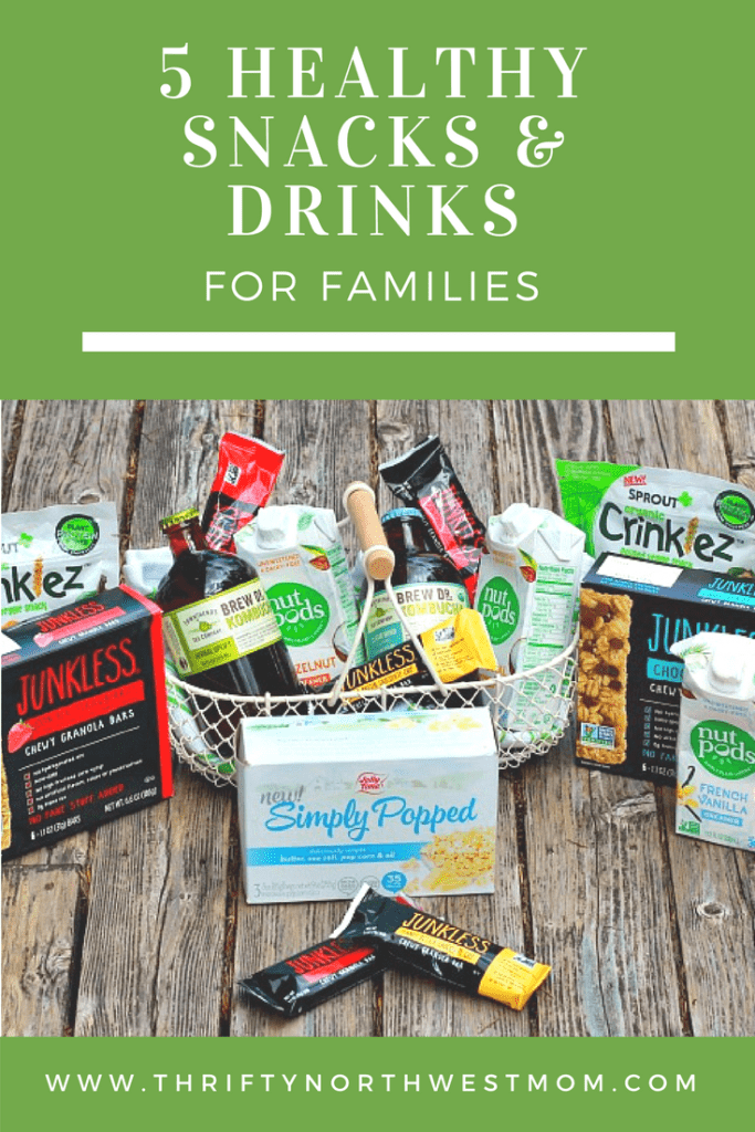 5 Healthy Snacks & Drinks for Families
