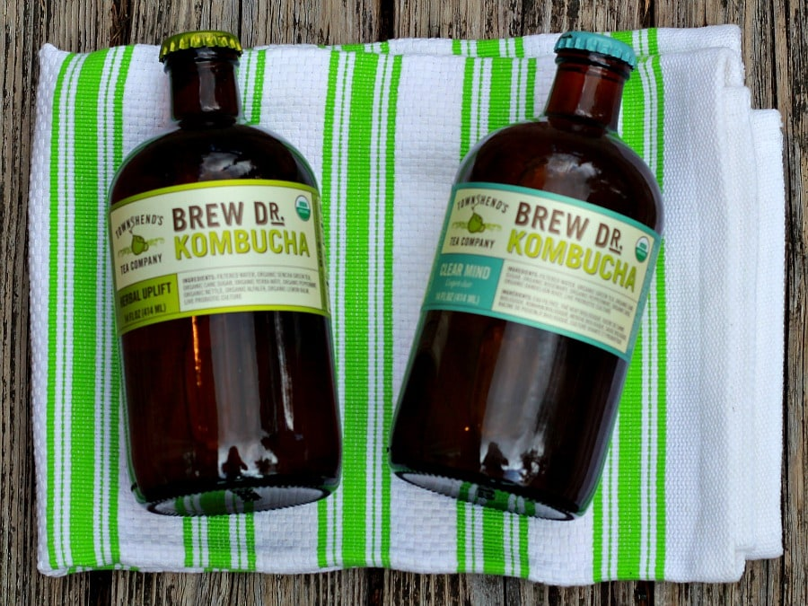 Brew Dr Kombucha filled with probiotics for a healthy drink to grab & go