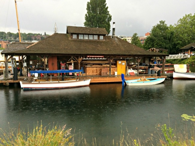 seattle wooden boat free rentals