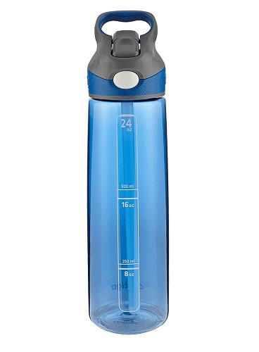 Contigo AUTOSPOUT Straw Addison Water Bottle, 24 oz, Monaco
