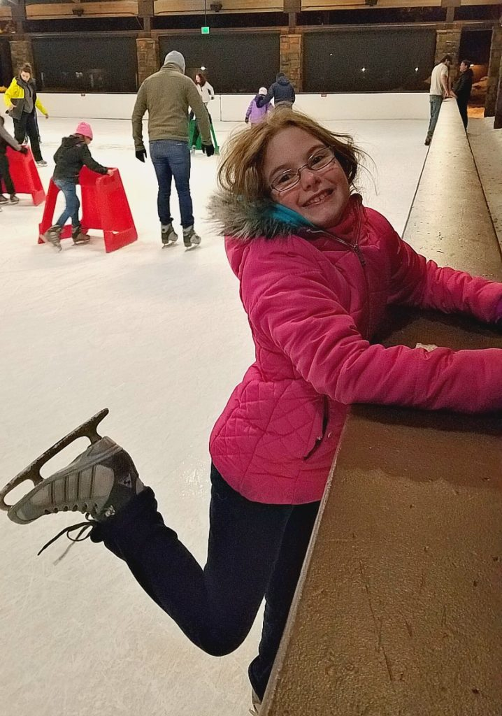 Ice Skating in Sunriver Oregon