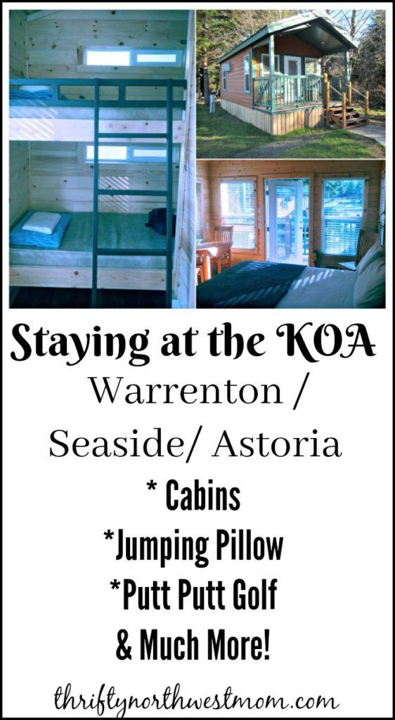KOA Seaside / Warrenton / Astoria Review