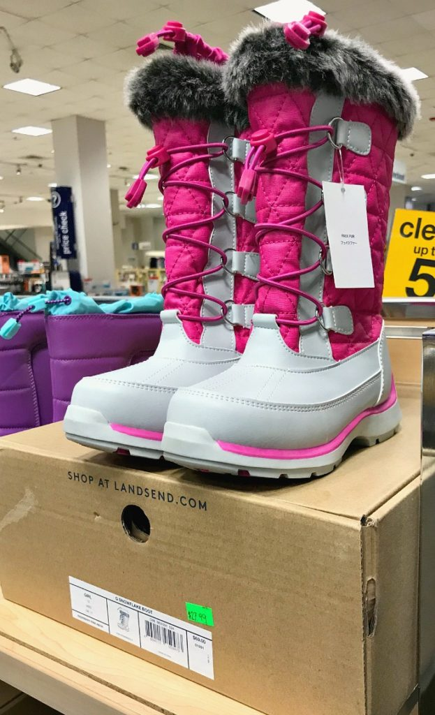 Lands End Snow Boots on Sale at Sears