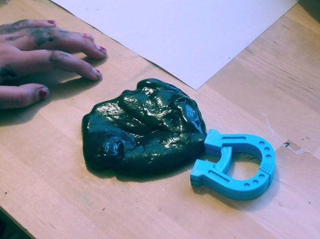Magnetic Slime Recipe – Great for Science Projects & More!
