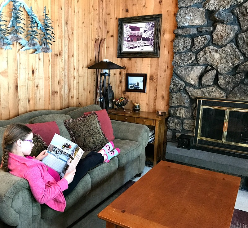 Relaxing at a Sunriver HomeAway Vacation Rental Home