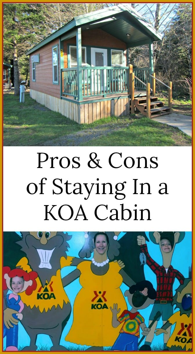 staying in a KOA Cabin, what you will want to know