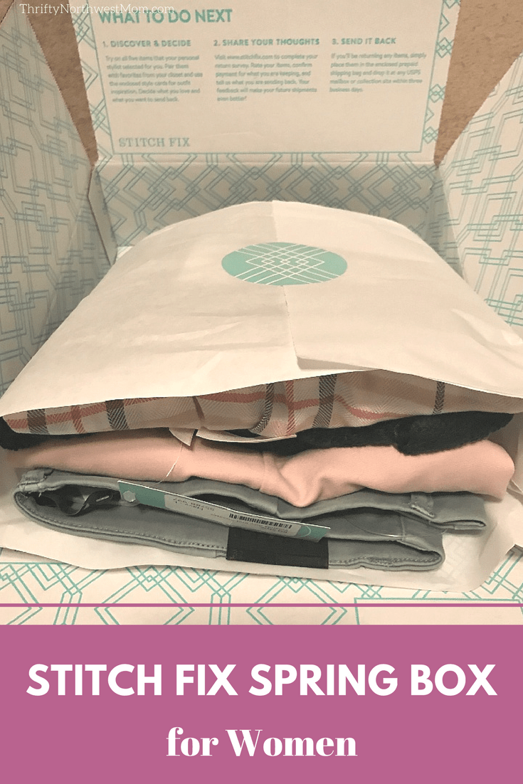 Stitch Fix Box for Women for Spring