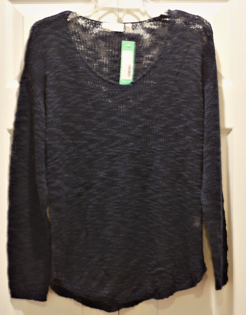 Stitch Fix Navy Blue Sweater