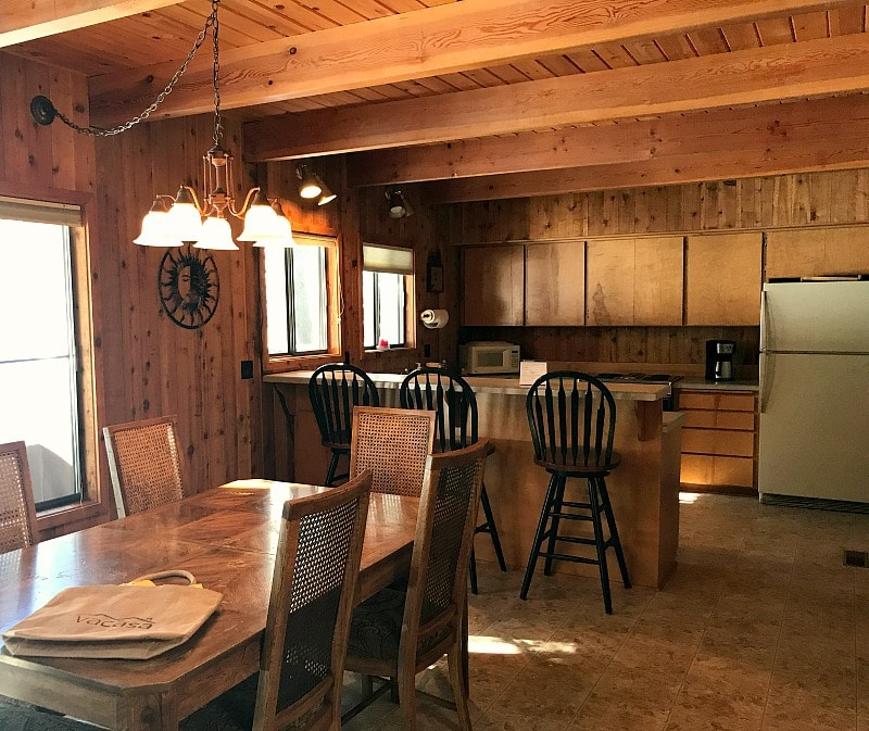 Sunriver HomeAway Vacation Rental Home Kitchen