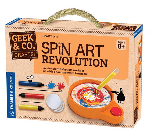 Thames Kosmos Spin Art Revolution Craft Kit