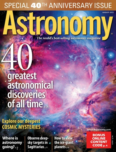 Astronomy Magazine Subscription - $13.99 Yr (70% Off ...