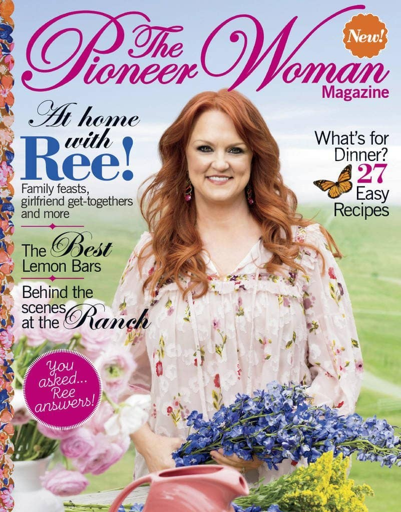 pioneer woman magazine sale