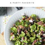 Easy Broccoli Salad Recipe – Perfect for Potlucks! Plus How-To Video