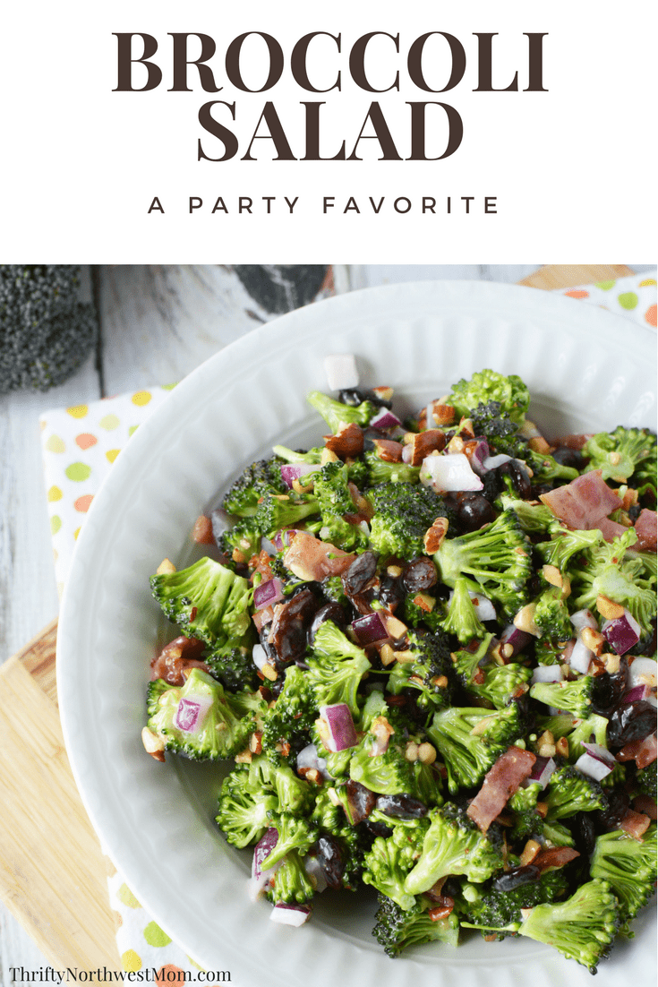 Easy Broccoli Salad for Potlucks